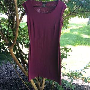 Banana Republic Long Plum Color Lightweight Dress